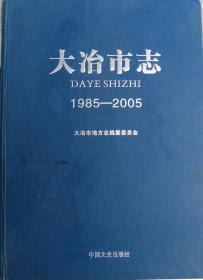 大冶市志1985——2005