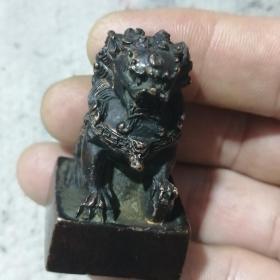 狮钮铜印章