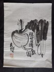 萝卜青菜47*35朱