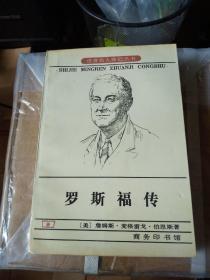罗斯福传——世界名人传记丛书