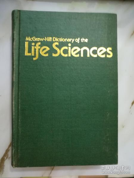 英文原版:生命科学辞典《41988-3》