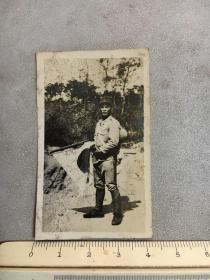 民国抗战时期老照片:太阳旗日本鬼子