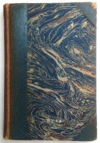 《乌加桑和尼科莱特》1920年法国中世纪浪漫小说私人定制半皮装本彩色插图本