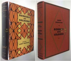1929年初版《水浒传》英译本/Geoffrey Dunlop 英译/Albert Ehrenstein/精装原书衣/水浒/ Robbers and Soldiers