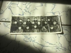 1956年内蒙商干校会计班教职员班组长合影