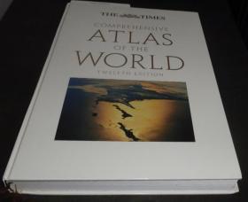 2手英文 Times Comprehensive Atlas of The World 泰晤士地理地图 巨本 外侧有点霉斑 xcb100