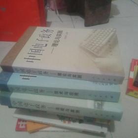 中国电子政务:法规与案例、技术与应用、理论与实践(全三册)——中国电子政务系列丛书