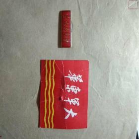 华东军大  校徽【1989年校友会制,难得能做出那个时代的韵味】