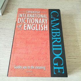 剑桥国际英语词典 Cambridge International Dictionary of English (巨厚本  1773页) 外文原版