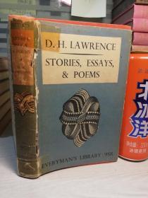 1939年  STORIES,ESSAYS,AND POEMS   人人文库