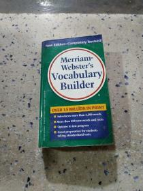 Merriam websters vocabulary builder:韦氏词典的词汇构建器(外文)