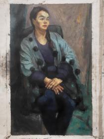 """10-19 著名油画家  ———— 中国全国美展奖五次。获国外玛丽麦格洛普奖、舍尔曼奖、阿基鲍尔奖十余次。被澳大利亚评为""""最杰出十位澳大利亚华人""""之首。"""