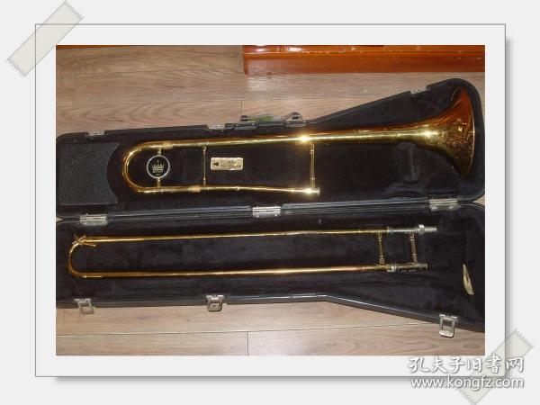 请看西洋乐器【长号】带盒。   见图.