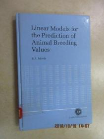 Linear modeis for the predictuon of animal breding values 精装本 共187页