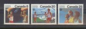 加拿大1976年蒙特利尔奥运会主办国3全新 圣火传递