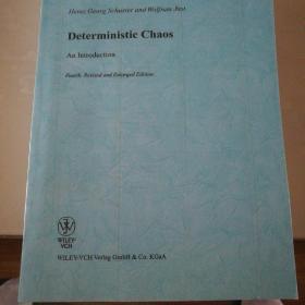 deterministic chaos(确定性混沌导论,第四版,修订与扩印版)