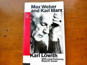 Max Weber and Karl Marx (Routledge Classics in Sociology)马克斯 韦伯与卡尔 马克思 Karl Löwith 卡尔 洛维特经典著作