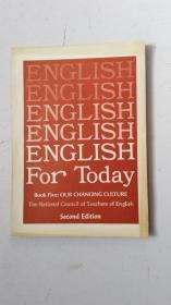 英文原版  ENGLISH For Today