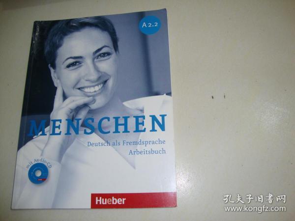 MENSCHEN Deutsch als Fremdsprache Arbeitsbuch(含光盘)A2.2