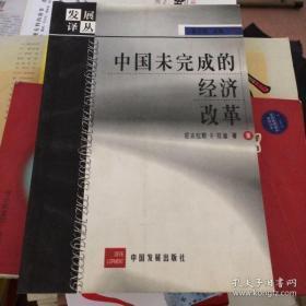 中国未完成的经济改革 (发展译丛)