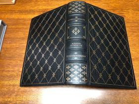 andersonville Franklin library真皮精装限量版,  书口三面刷金(22k黄金) , 能保存数百年的存档级别的无酸纸