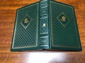 Great Cases of Sherlock Holmes Franklin Library出版仿皮精装 书口三面刷金纸张印刷好