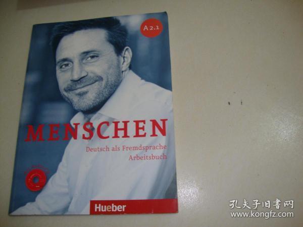 MENSCHEN Deutsch als Fremdsprache Arbeitsbuch(含光盘)A2.1