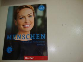 MENSCHEN Deutsch als Fremdsprache Kursbuch(含光盘)A2.2