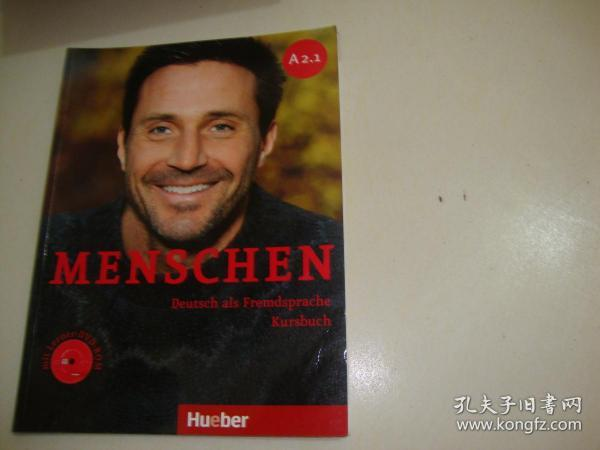 MENSCHEN Deutsch als Fremdsprache Kursbuch(含光盘)A2.1