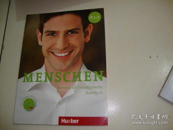 MENSCHEN Deutsch als Fremdsprache Kursbuch(含光盘)A1.2