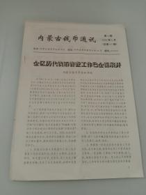 内蒙古钱币通讯(1996年第8期 总第45期)