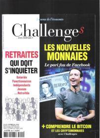 |最佳法语阅读资料最好法语学习资料|原版法语杂志 Challenges 2019年9月5日【店里有许多法文原版书欢迎选购】