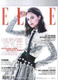 |外国时尚杂志| ELLE 2019年8月23日 法语原版时尚杂志【店里有许多外文原版书欢迎选购】