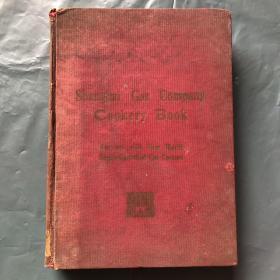 射热烹饪法  Shanghai Gas Company Cookery Book(民国版 精装 中英文对照 菜谱)