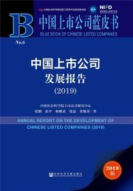 中国上市公司蓝皮书:中国上市公司发展报告(2019)
