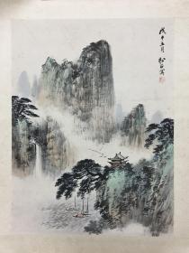 著名山水画家-崔松石作品