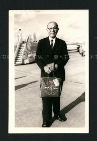 大文豪 林语堂照片,1966年,原版老照片,福建乡贤影像文献