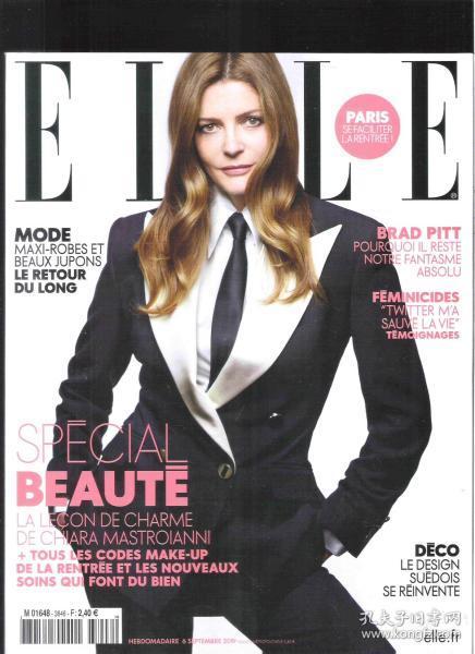 |外国时尚杂志| ELLE 2019年9月6日 法语原版时尚杂志【店里有许多外文原版书欢迎选购】