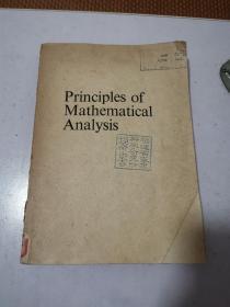 Principles of Mathematical Analysis 数学分析原理 英文原版 馆藏书