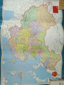 印刷精美的《中国地图》藏文版