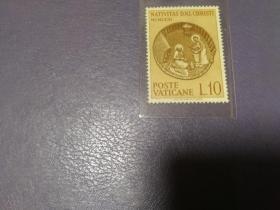 外国邮票 梵蒂冈1963宗教绘画(无邮戳新票)