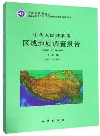 中华人民共和国区域地质调查报告 丁固幅