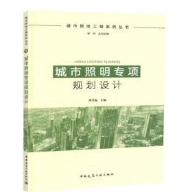正版 城市照明专项规划设计 荣浩磊 城市照明工程系列丛书 道路照明夜景照明工程设计城市照明工程施工管理 中国建筑工业出版