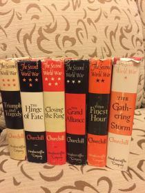 The Second World War by Winston Churchill 丘吉尔《二战回忆录》六卷本 品好