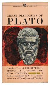 Great Dialogues of Plato, Translated by W.H.D. Rouse, Edited by Eric H. Warmington and Philip G. Rouse 英文原版-《柏拉图语录:理想国、申辩、克力同、斐多、伊安篇、米诺篇、会饮等,W·劳斯翻译,埃里克·H·沃明顿与菲利普·G·劳斯编辑》