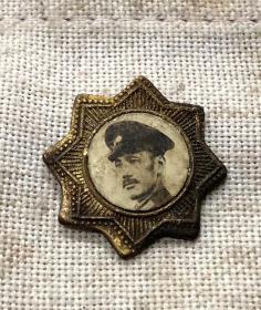 抗战早期蒋委员长像章