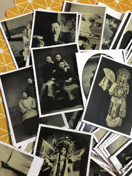 梅兰芳华:京剧大师梅兰芳 黑白照片(生活照、剧照等等)88张不重复合售