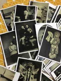 梅兰芳华:京剧大师梅兰芳 黑白照片(生活照、剧照等等)94张不重复合售