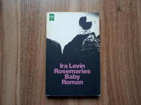 德文版  Rosemaries Baby 失婴记=罗斯玛丽的婴儿  德语译版 世界惊悚悬疑名作