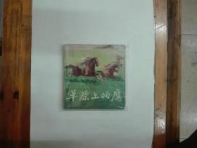 草原上的鹰  48开文革连环画  1975年一版一印